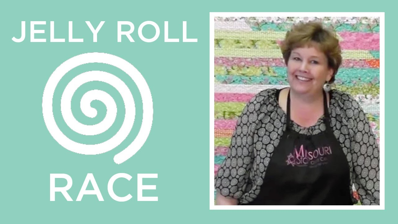 Jelly Roll Race Quilt Quilting Tutorials