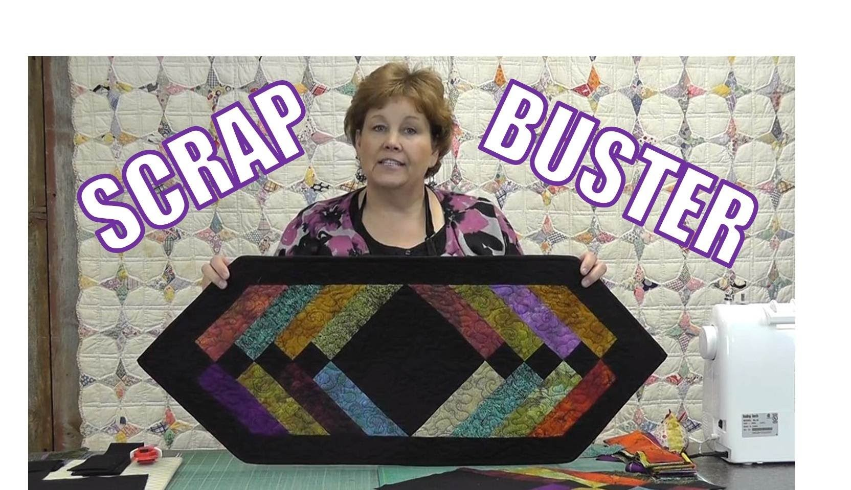Easy Table Runner Using The Binding Tool Quilting Tutorials