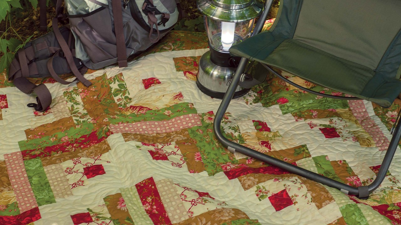 Curved Log Cabin Quilt Quilting Tutorials