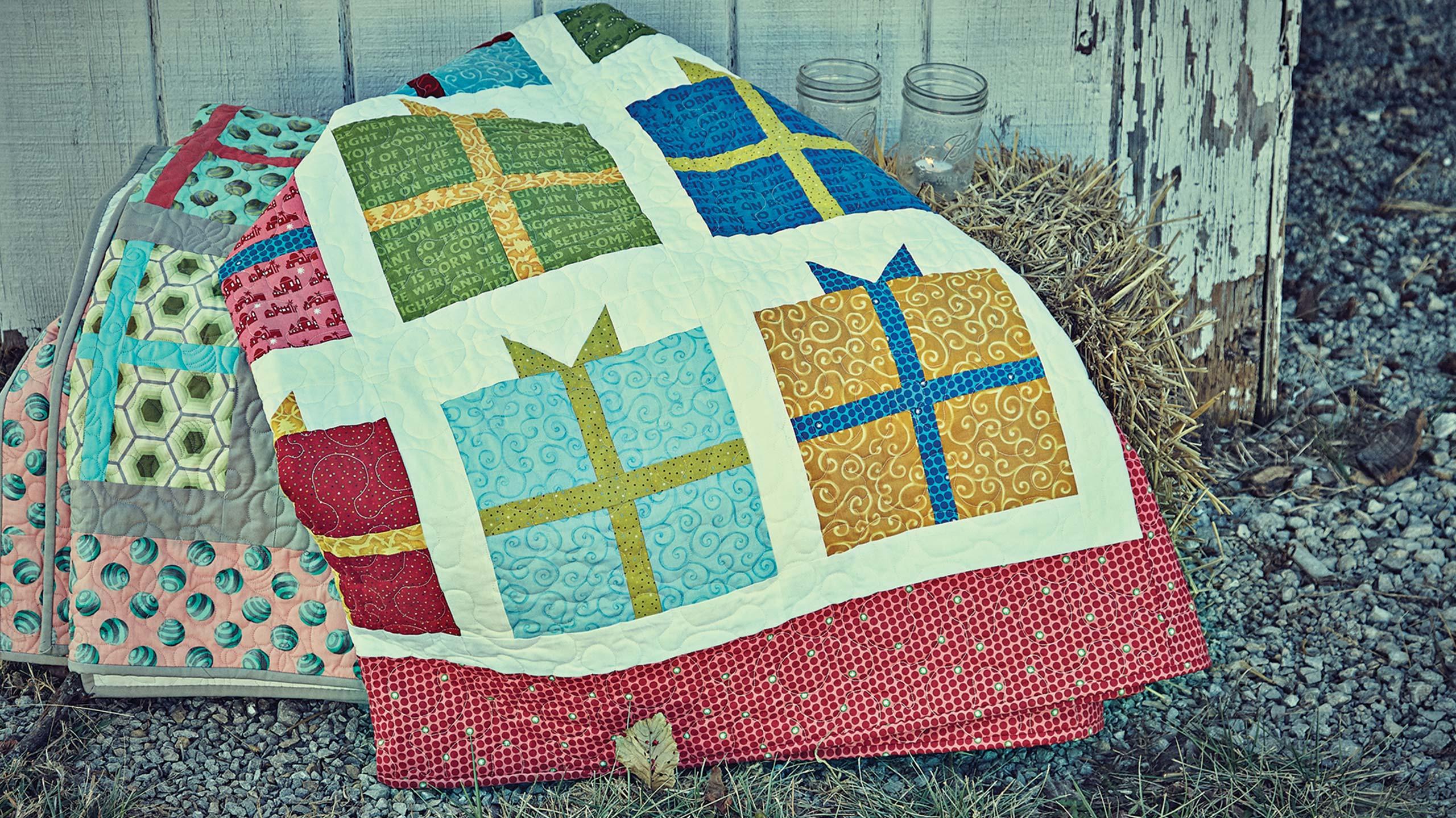 Present Quilt — Quilting Tutorials