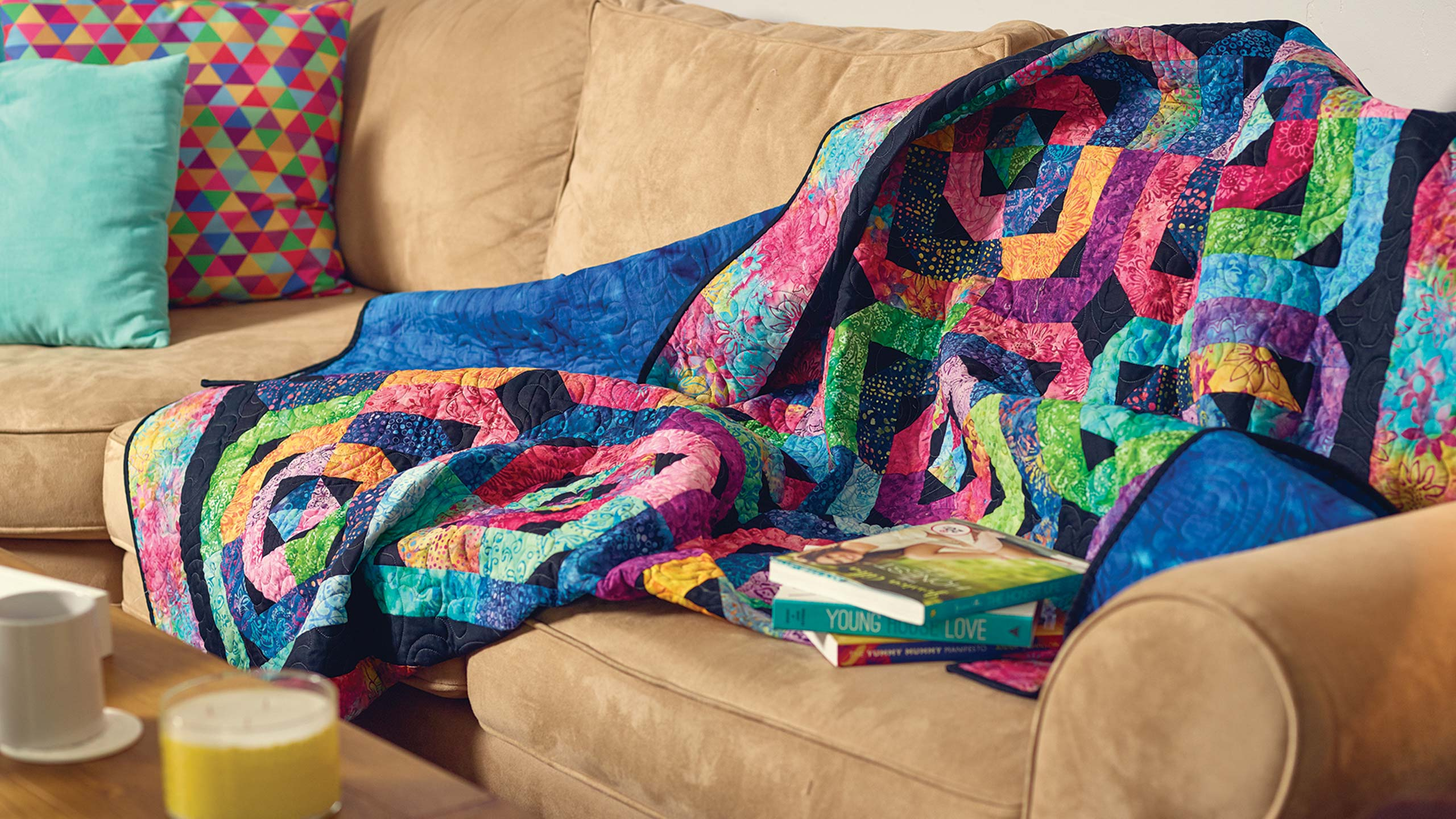 The Flying Geese Log Cabin Quilt Quilting Tutorials