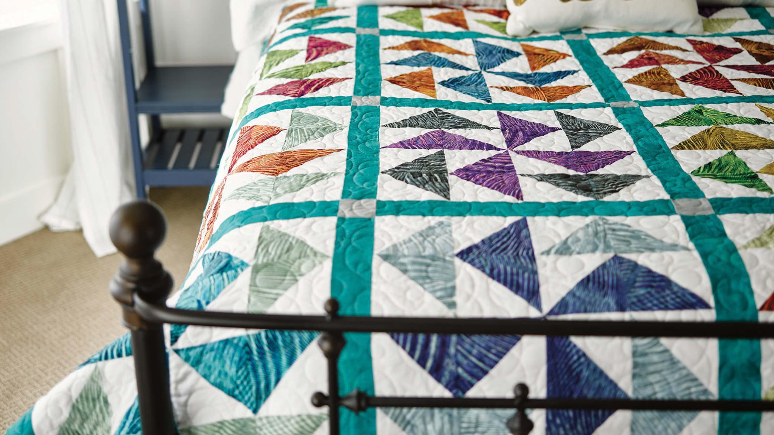 The Dutchman's Puzzle Quilt — Quilting Tutorials : flying dutchman quilt pattern - Adamdwight.com