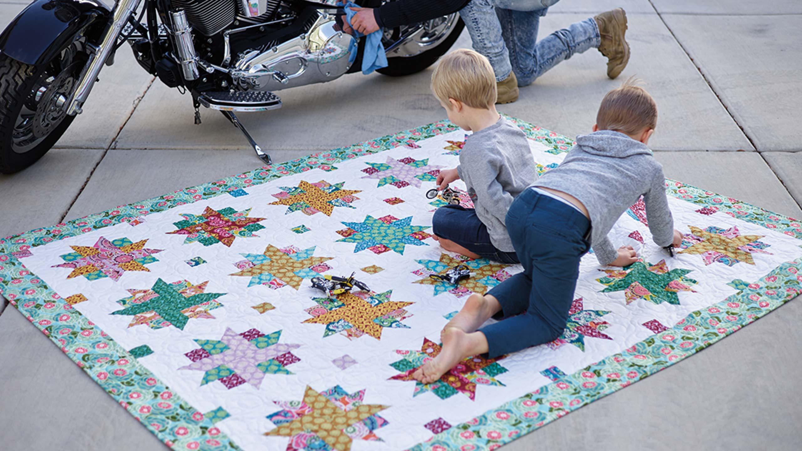 Ribbon star quilt quilting tutorials ribbon star quilt baditri Images