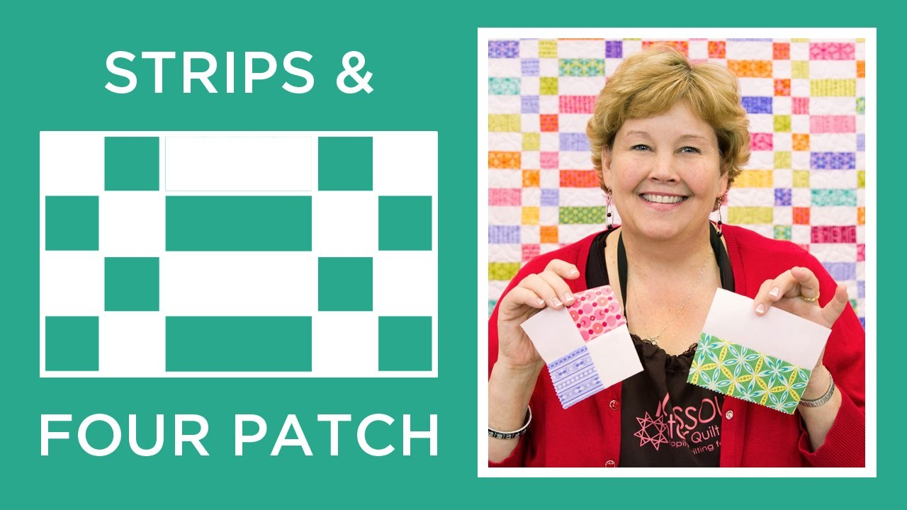 Strips And Four Patch Quilt Quilting Tutorials
