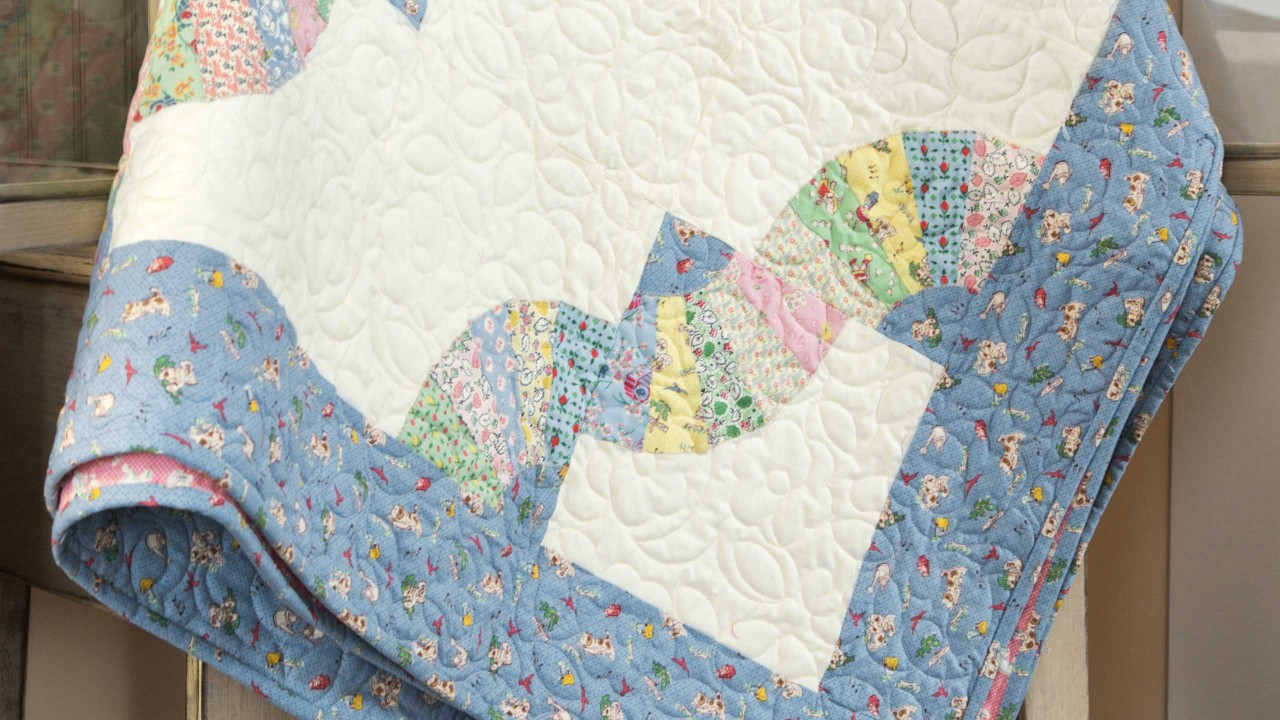 Make A Grandmothers Fan Quilt With Jenny Quilting Tutorials