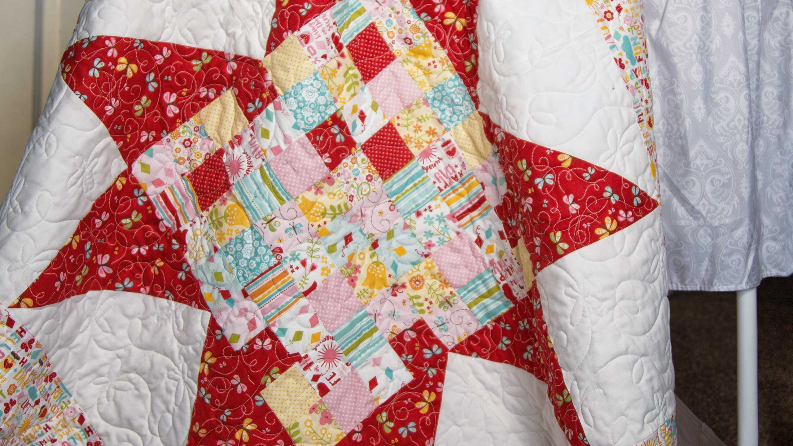 Baby Blocks Quilt Pattern.Make A Baby Blocks Quilt With Jenny Quilting Tutorials