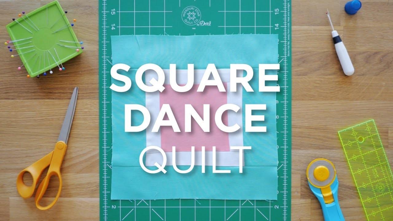 Quilt Snips Mini Tutorial Square Dance Quilt Quilting