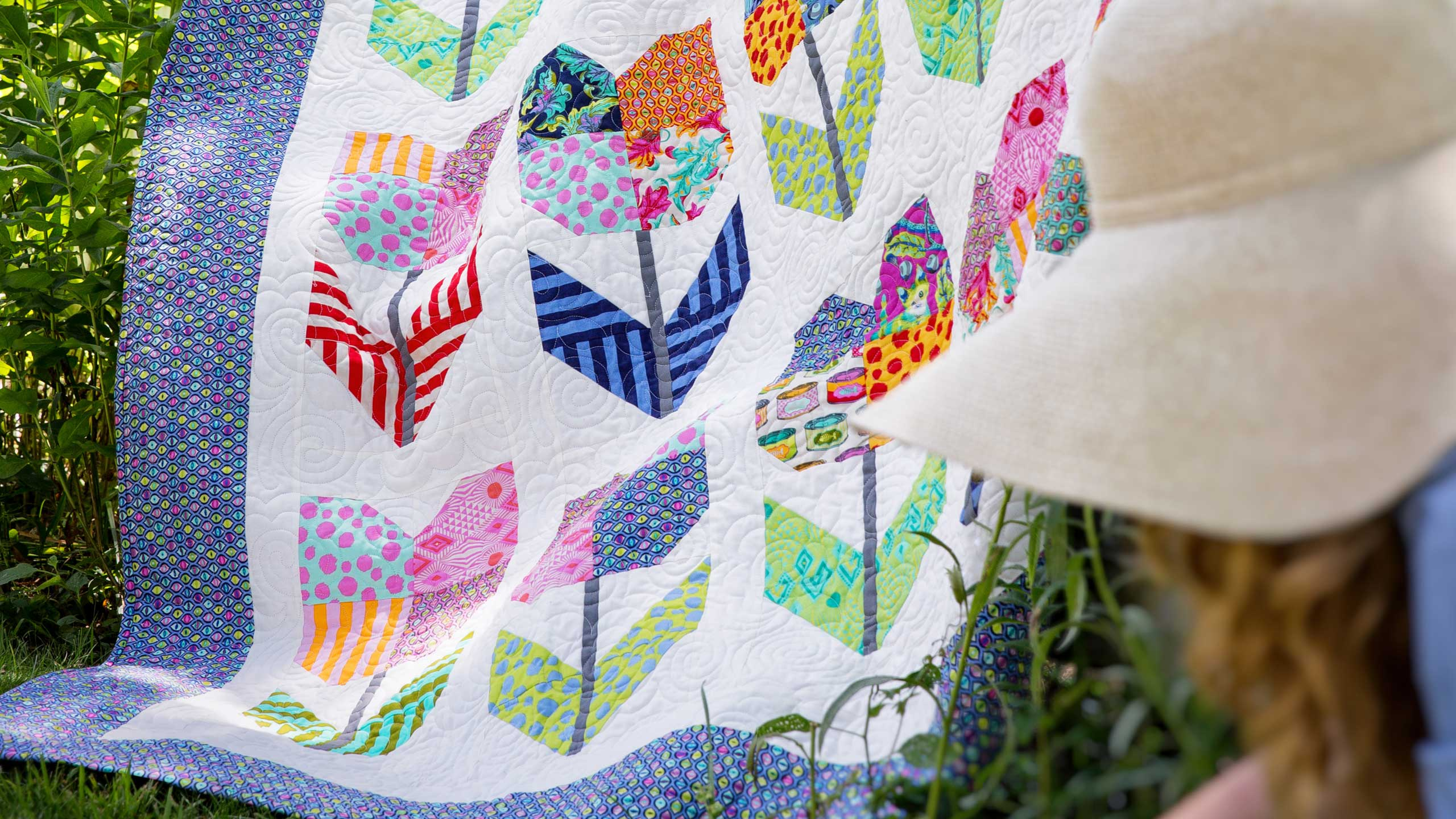 Make A Totally Tulips Quilt With Jenny Quilting Tutorials