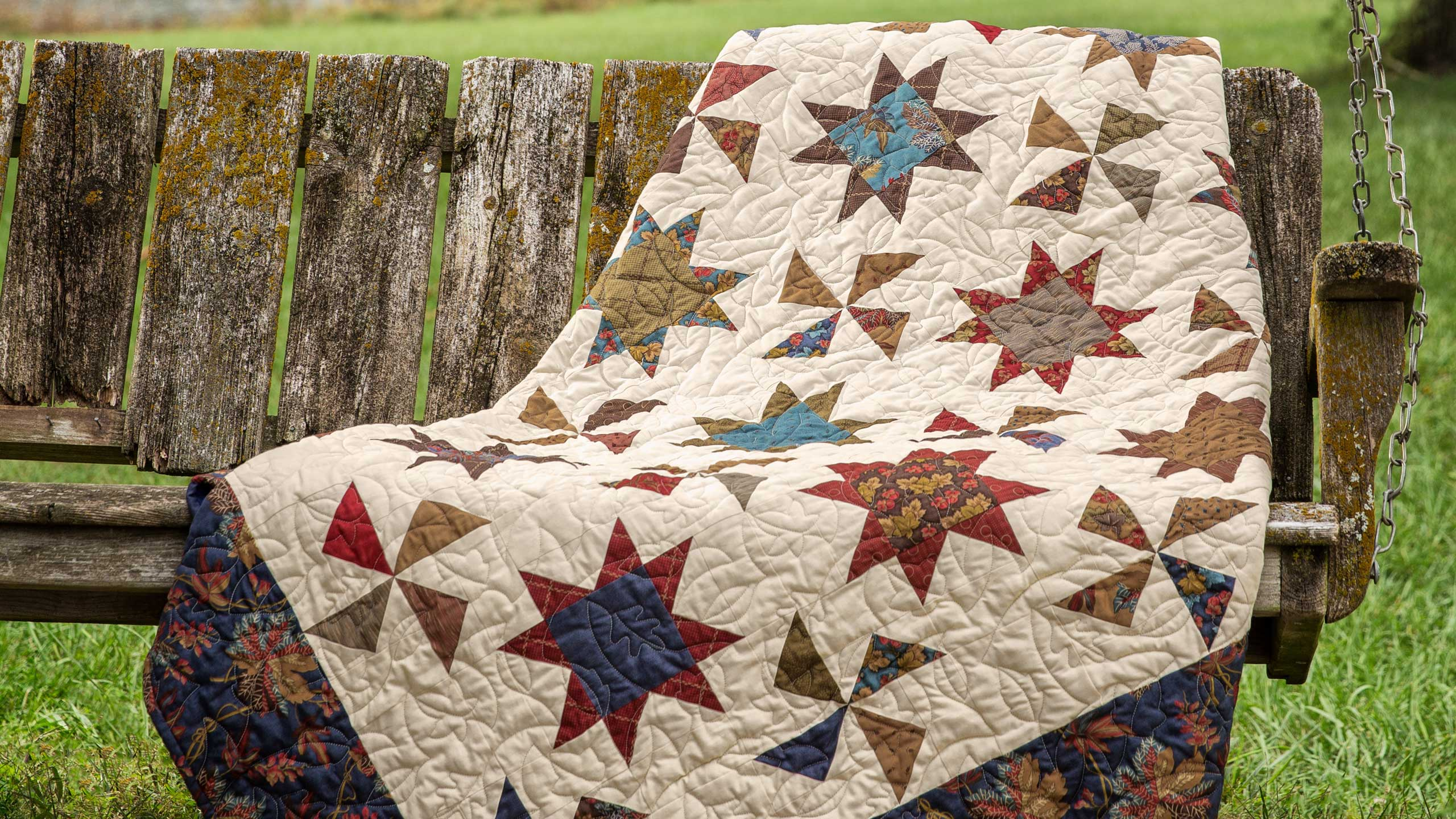 Make A Stars Amp Pinwheels Quilt With Jenny Quilting