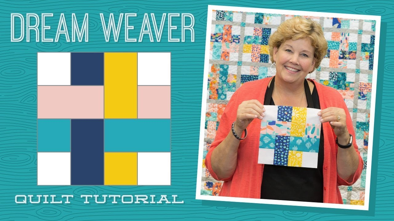 Make A Dream Weaver Quilt With Jenny Quilting Tutorials