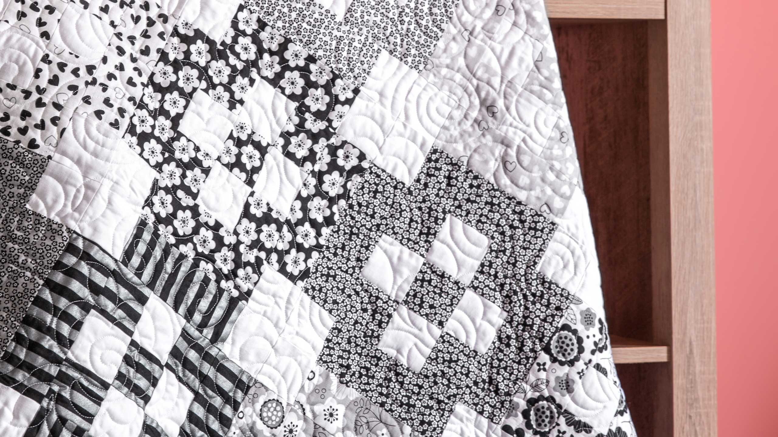Make A Bordered 9 Patch Quilt With Jenny Quilting Tutorials