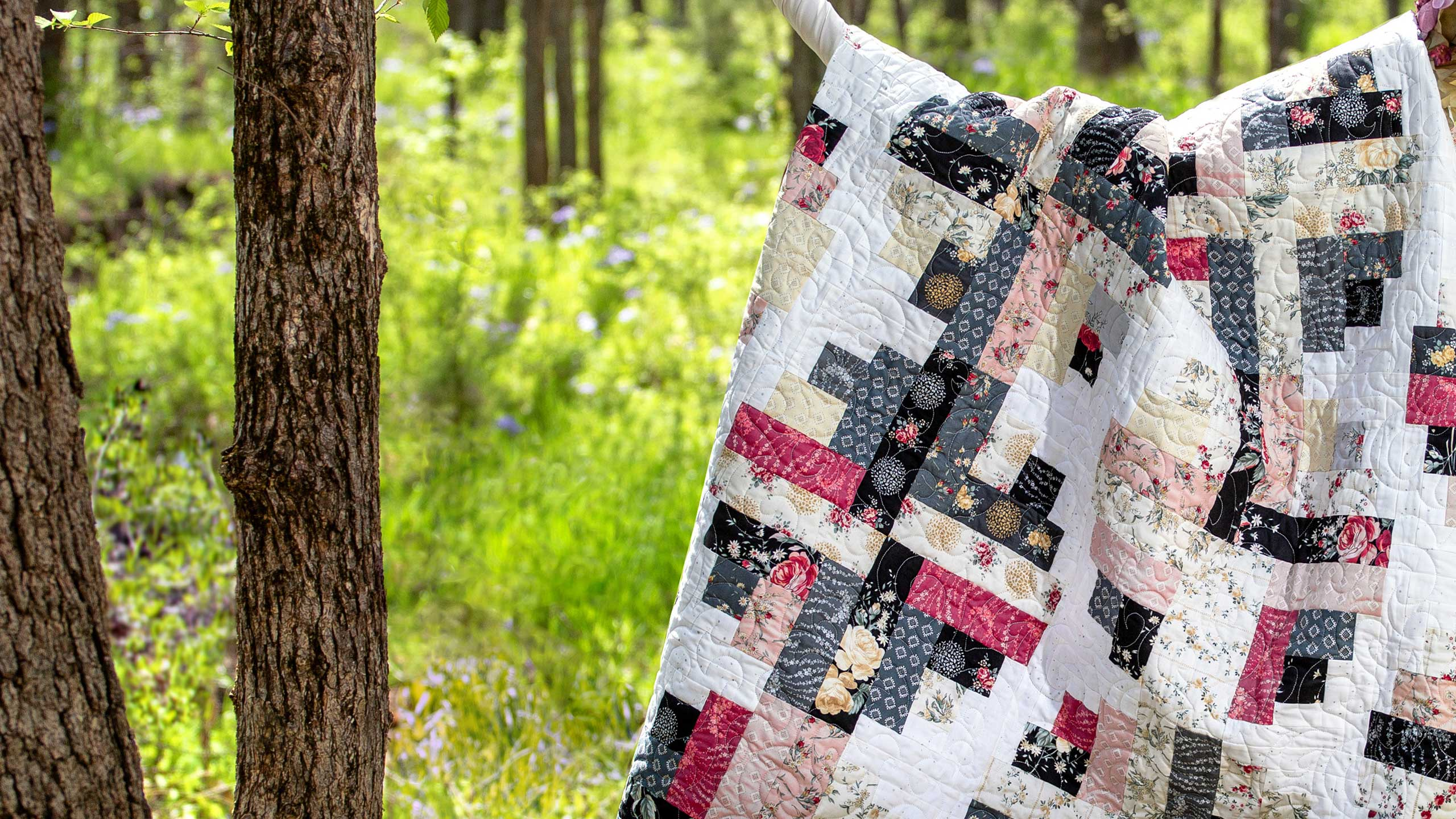 Make A River Log Cabin Quilt With Jenny Quilting Tutorials