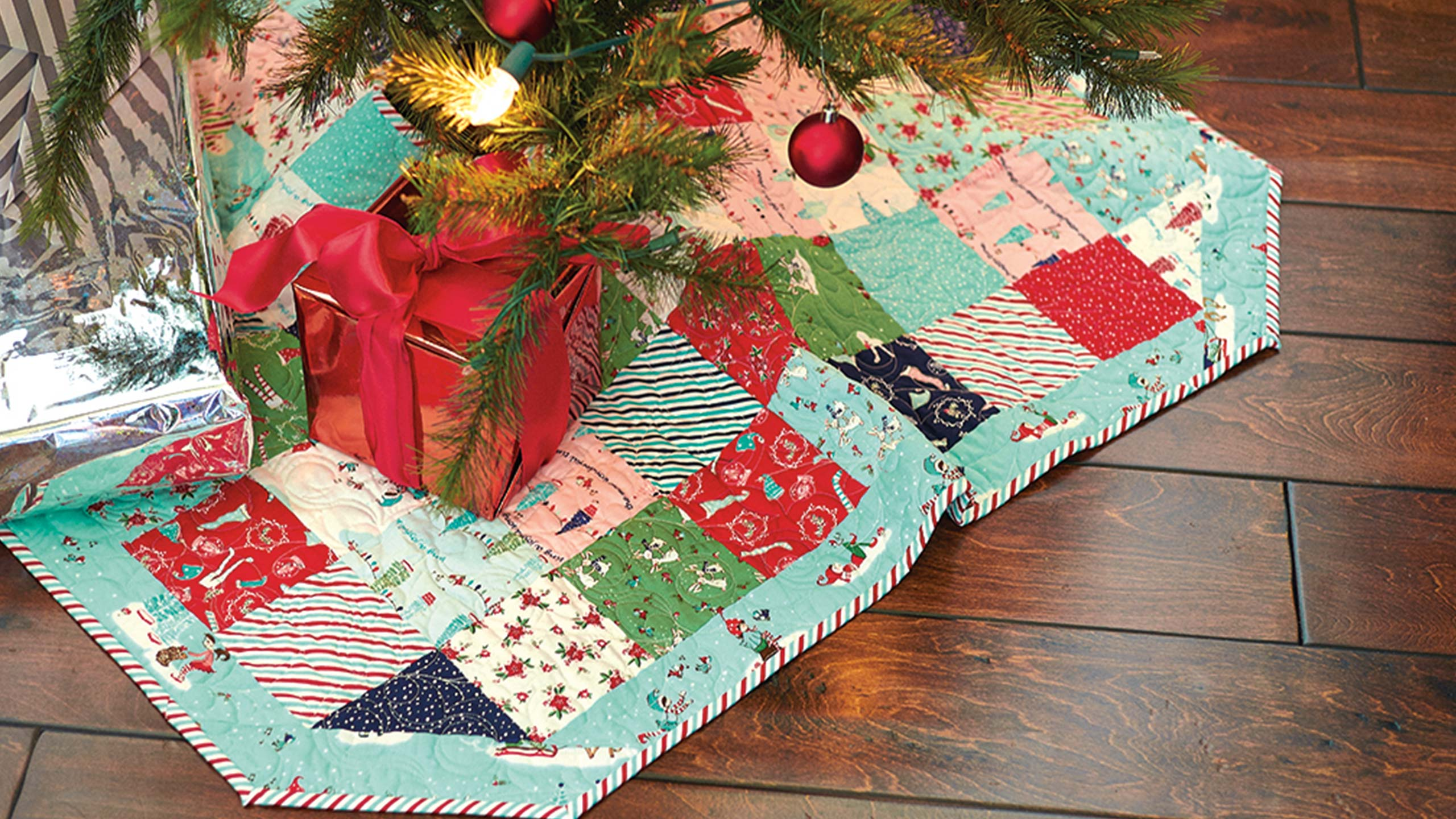 christmas tree skirt tutorial - Christmas Tree Skirt Pattern